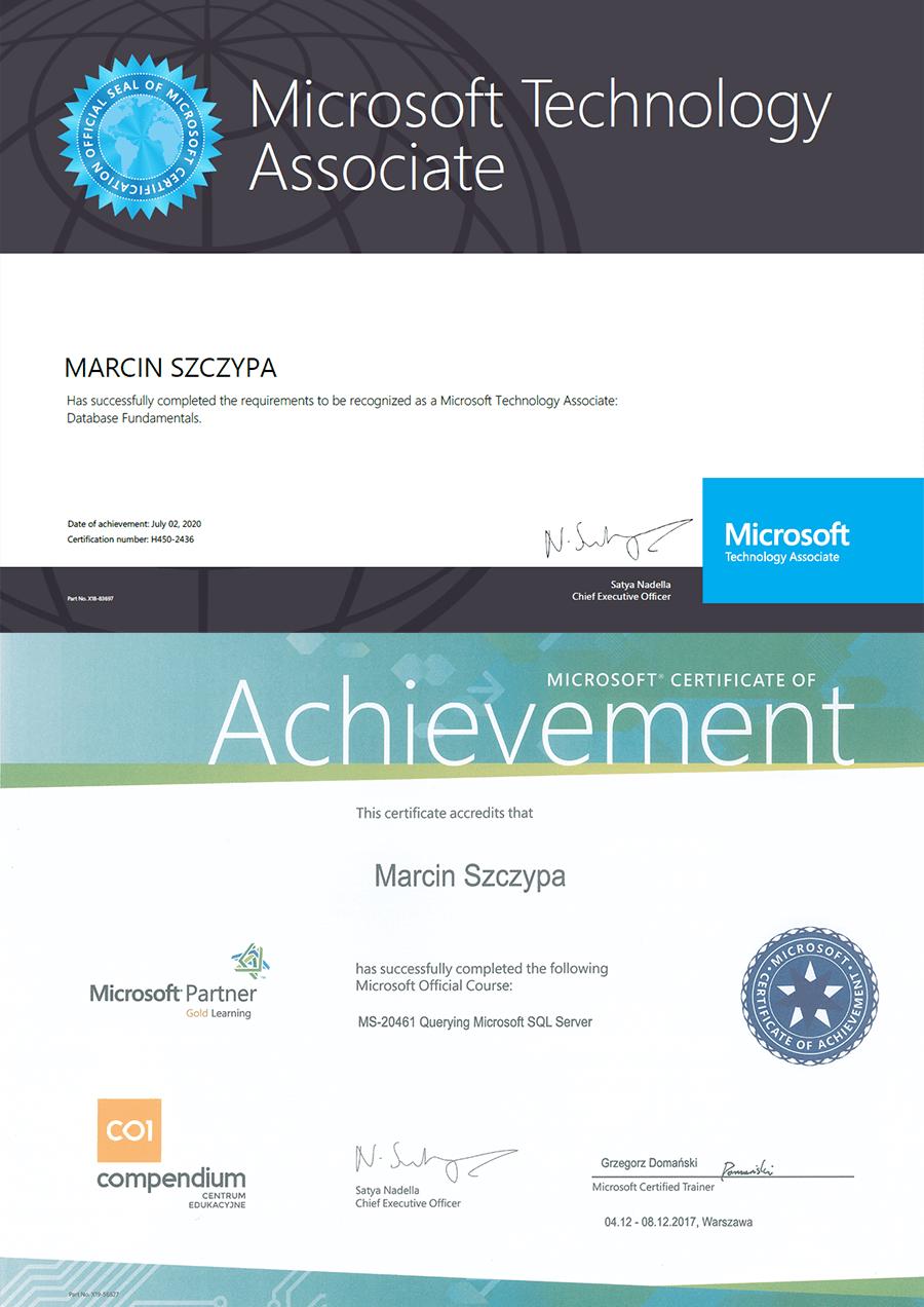 Microsoft Certificate